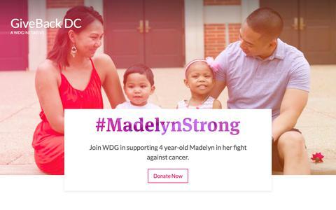 GiveBack DC 2017: #MadelynStrong | WDG