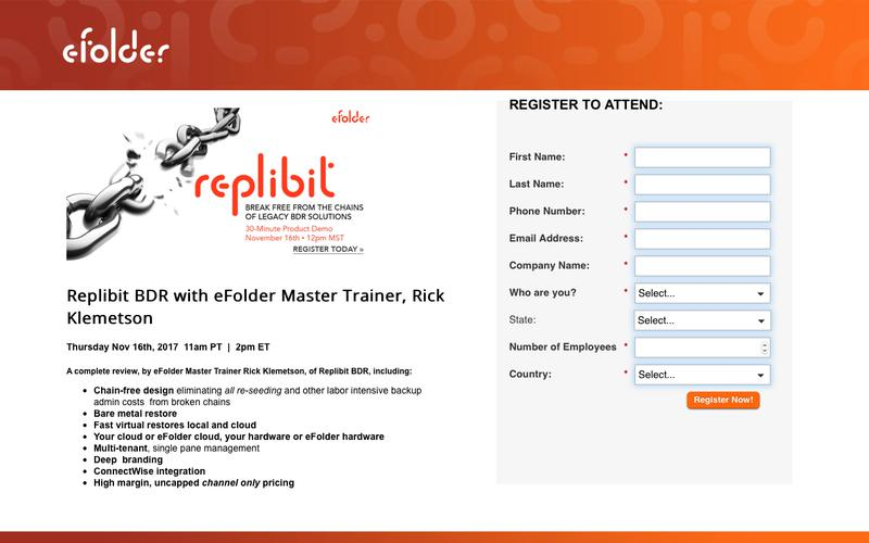 Replibit BDR with eFolder Master Trainer
