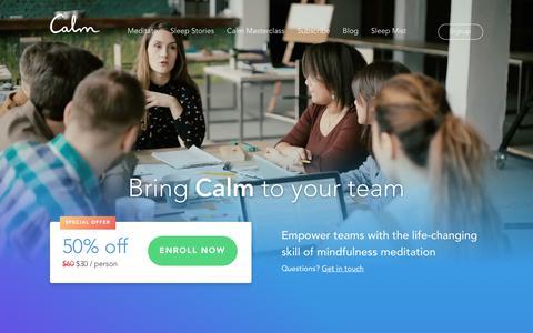 Calm - Calm Teams