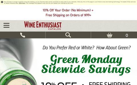 Wine Enthusiast - Wine Accessories, Wine Storage and Wine Gifts
