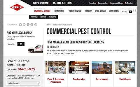 Commercial Pest Control: Exterminators for Business
