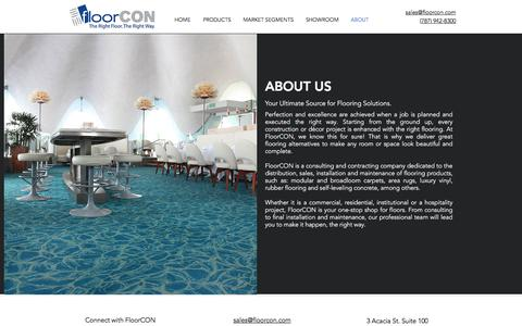Screenshot of About Page floorcon.com - About | FloorCON | Puerto Rico - captured Aug. 18, 2018