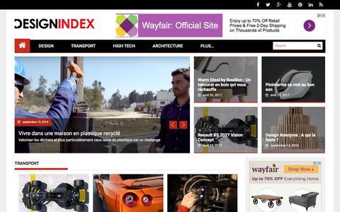 Design Index : L'actualité de tous les designs, mais pas que !