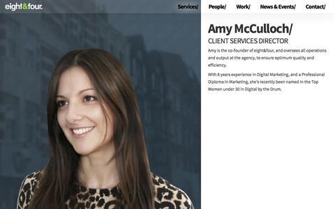 Screenshot of Team Page eightandfour.com - Digital Marketing Agency London | Online marketing Solutions | eight&four - captured Sept. 23, 2014