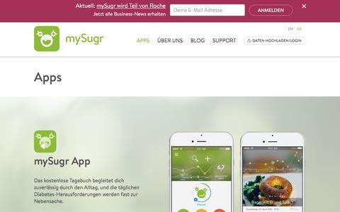 Apps | mySugr.com