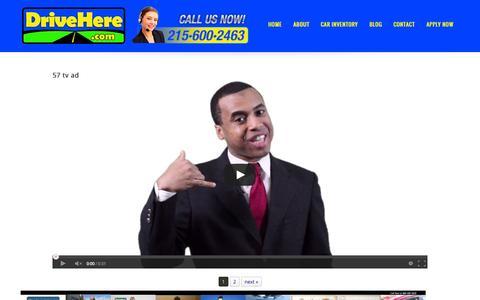 Screenshot of Testimonials Page drivehere.com - Testimonials | DriveHere.com - captured Nov. 3, 2014