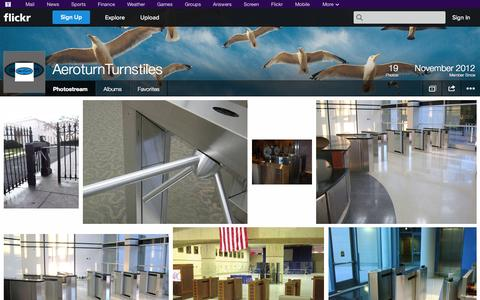 Screenshot of Flickr Page flickr.com - Flickr: AeroturnTurnstiles' Photostream - captured Oct. 23, 2014