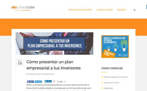 Blog de Crowdcube | Noticias de crowdequity -