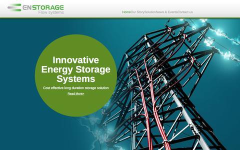 Screenshot of Team Page enstorageinc.com - En Storage | Innovative energy system - Enstorage - captured July 3, 2015
