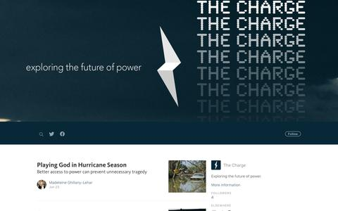 Screenshot of Blog gridless.com - The Charge - captured Sept. 23, 2017
