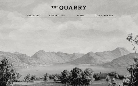 Screenshot of Home Page the-quarry.co.uk - Home | The Quarry - captured Oct. 9, 2014