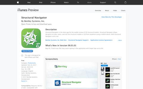 Structural Navigator on the App Store