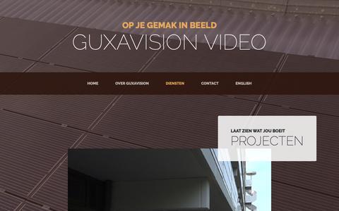 Screenshot of Products Page guxavision.nl - Guxavision Video - captured Nov. 5, 2018