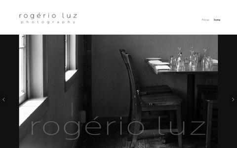 Screenshot of Home Page rogerioluz.com - rogerio luz - captured Dec. 21, 2018