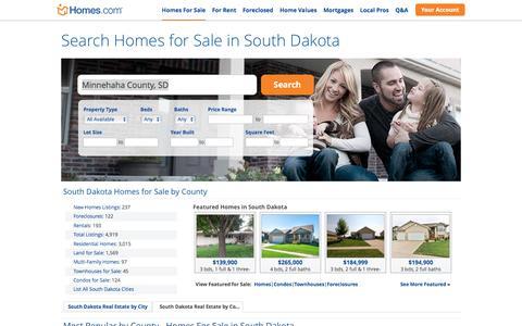 South Dakota Homes for Sale | Homes.com