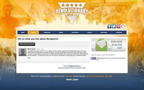 Screenshot of Testimonials Page pla-it.com - Testimonials - captured Sept. 29, 2014