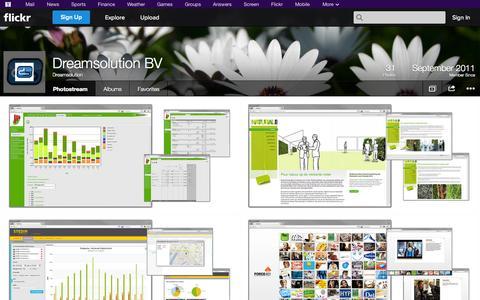 Screenshot of Flickr Page flickr.com - Flickr: Dreamsolution's Photostream - captured Oct. 22, 2014