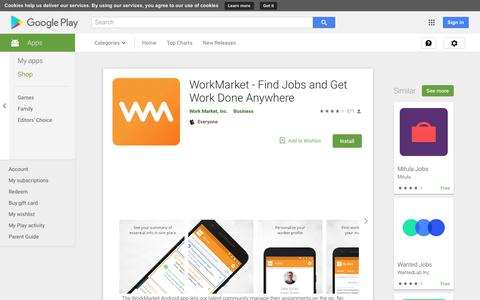 WorkMarket - Find Jobs and Get Work Done Anywhere - Apps on Google Play