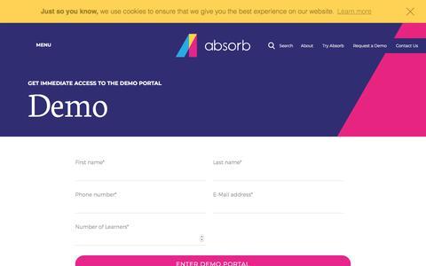 Free LMS Demo - Free LMS System Demo | Absorb LMS