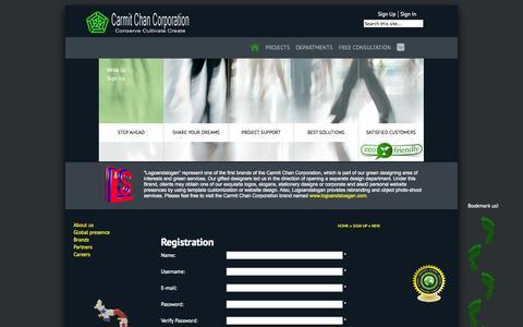 Screenshot of Signup Page ca-c-co.com - Registration - captured Oct. 2, 2014