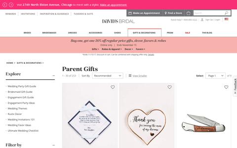 Gifts for Parents of the Bride and Groom | David's Bridal