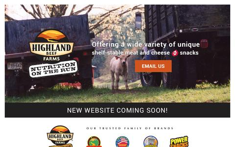 Screenshot of Home Page About Page Privacy Page Contact Page FAQ Page highlandbeeffarms.com - Highland Beef Farms, Inc. - captured Sept. 30, 2014