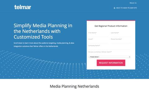 Media Planning in the Netherlands - Telmar