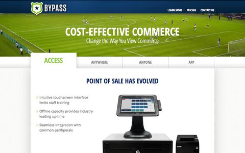 Screenshot of Pricing Page bypassmobile.com - Our Product | Bypass - captured Sept. 13, 2014