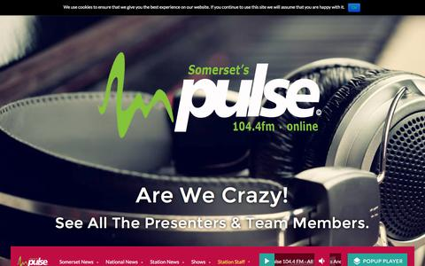 Screenshot of Team Page pulseradio.org - Team Members | Pulse 104.4 FM - All The Hits And More .... - captured Nov. 15, 2016