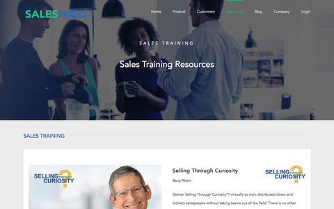 Sales Training & Sales Playbooks   SalesHood