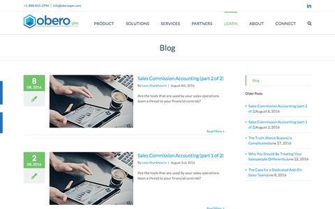 Blog - Obero SPM