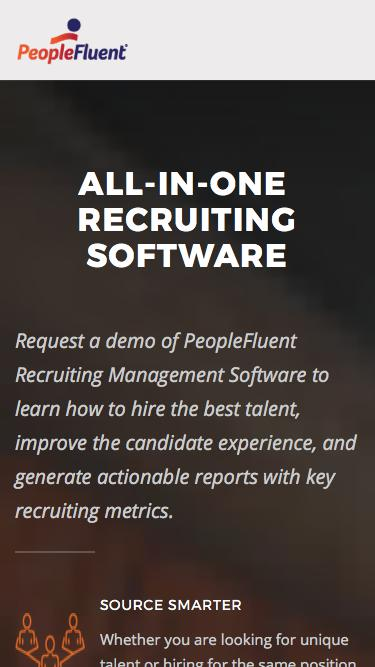 Recruiting Software | PeopleFluent
