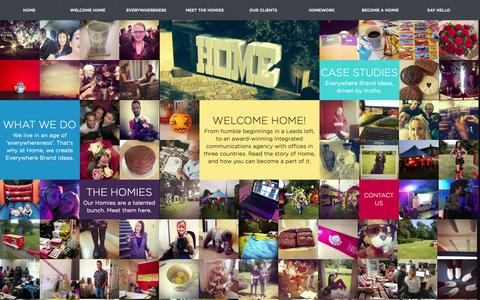 Screenshot of Home Page homeagency.co.uk - Home   Home Agency - captured Oct. 6, 2014