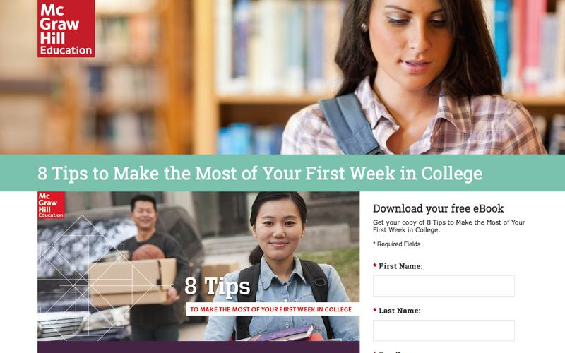8 Tips to Make the Most of Your First Week of College