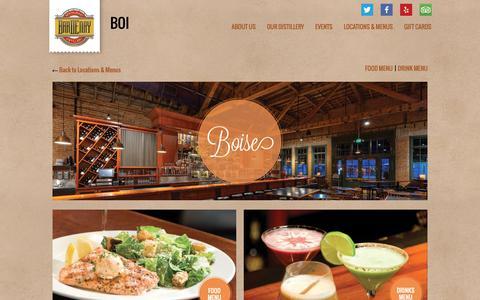 Screenshot of Menu Page bardenay.com - Bardenay Boise | Boise | Bardenay - captured Nov. 6, 2018