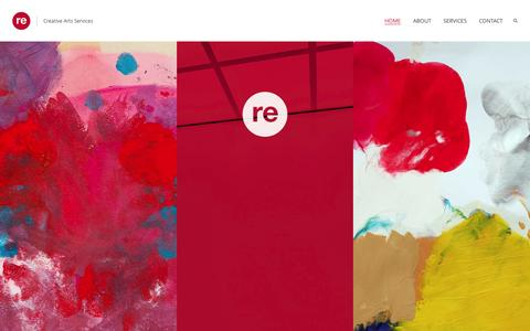 Screenshot of Home Page republic.gallery - Republic Gallery - captured Aug. 16, 2015