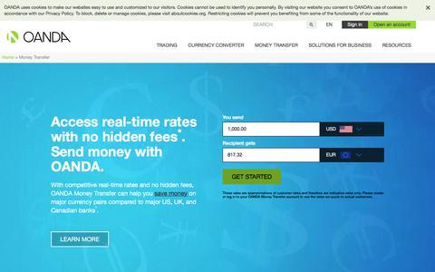 International Money Transfer | Send Money Abroad | OANDA