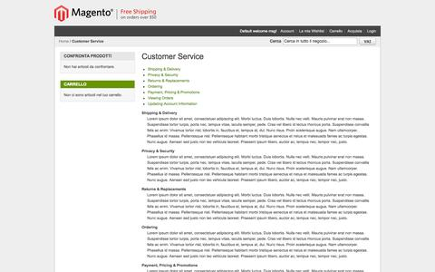 Screenshot of Support Page emporium0039.com - Customer Service - captured Sept. 30, 2014