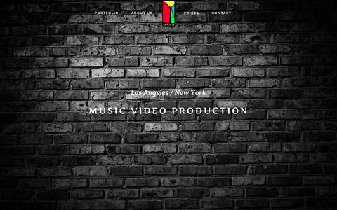 Screenshot of Home Page music-video-nyc.com - Music video production NYC | Music video production NYC - captured July 8, 2018