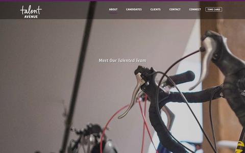 Screenshot of Team Page talentavenue.com - Our Team | Talent Avenue - captured Sept. 30, 2014