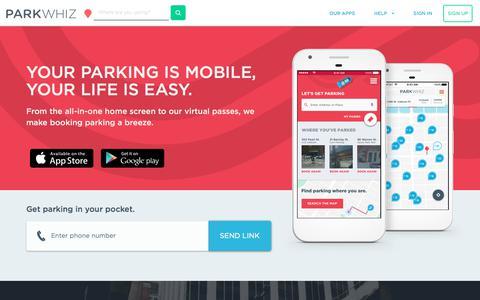 | Guaranteed Parking - ParkWhiz