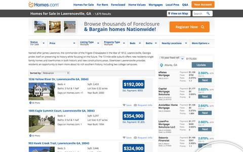Lawrenceville, GA Homes for Sale & Lawrenceville Real Estate at Homes.com | 1869 Listings of Homes for Sale