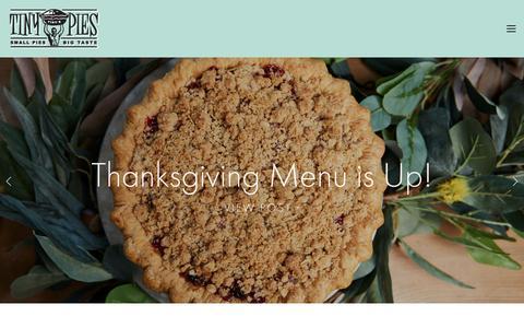 Screenshot of Blog tinypies.com - Blog — Tiny Pies - captured Oct. 20, 2018