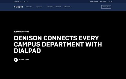 Denison Connects Every Campus Department with Dialpad   Dialpad   Dialpad