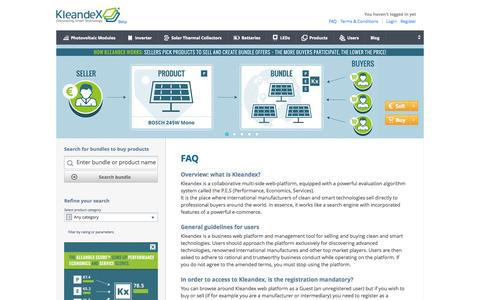 Screenshot of About Page kleandex.com - Kleandex® - Discovering Smart Technology - captured Oct. 29, 2014