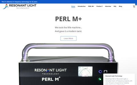 Resonant Light Technology says…