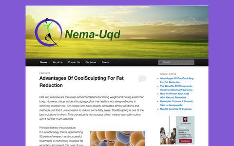 Screenshot of Home Page nema-uqd.info - Nema-uqd -Nema-uqd - captured Oct. 20, 2017
