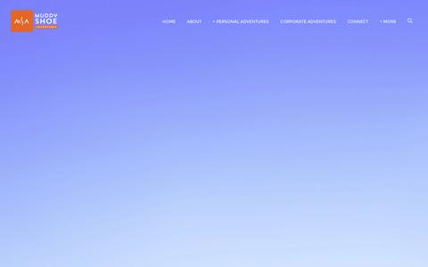 Screenshot of Testimonials Page muddyshoeadventures.com - Testimonials — Muddy Shoe Adventures - captured Oct. 26, 2014