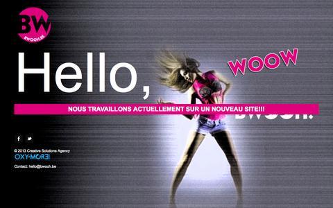 Screenshot of Home Page bwooh.be - BWOOH, annuaire des services et commerces en Brabant Wallon - captured Sept. 30, 2014