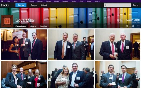 Screenshot of Flickr Page flickr.com - Flickr: BoyarMiller's Photostream - captured Oct. 23, 2014